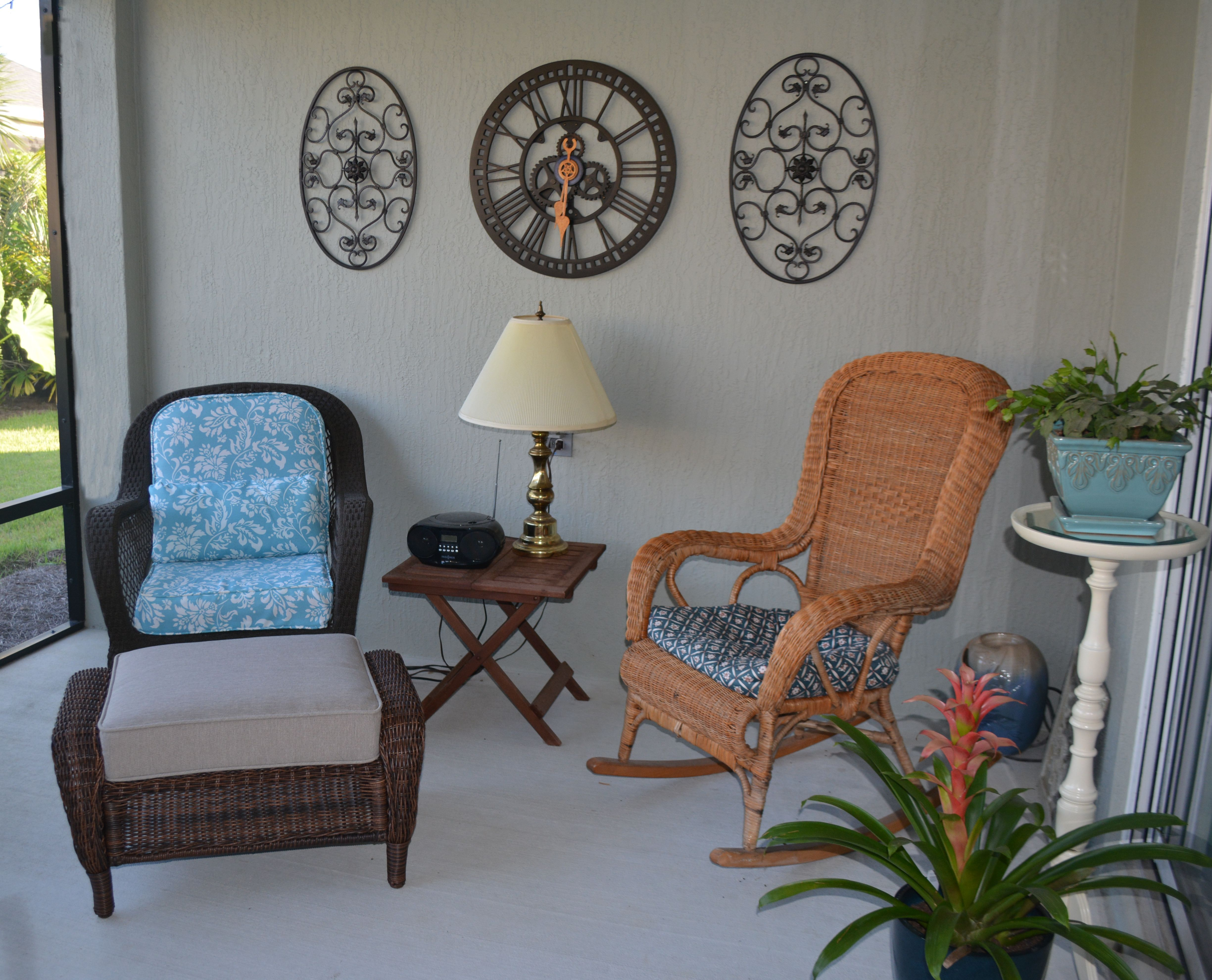 I Finally Finished Re covering Our Patio Furniture