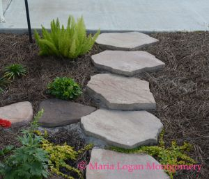 Side of Driveway Steps - mlm