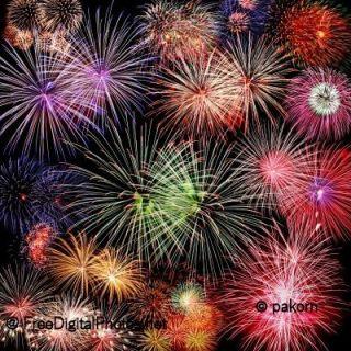 Fireworks - copyright